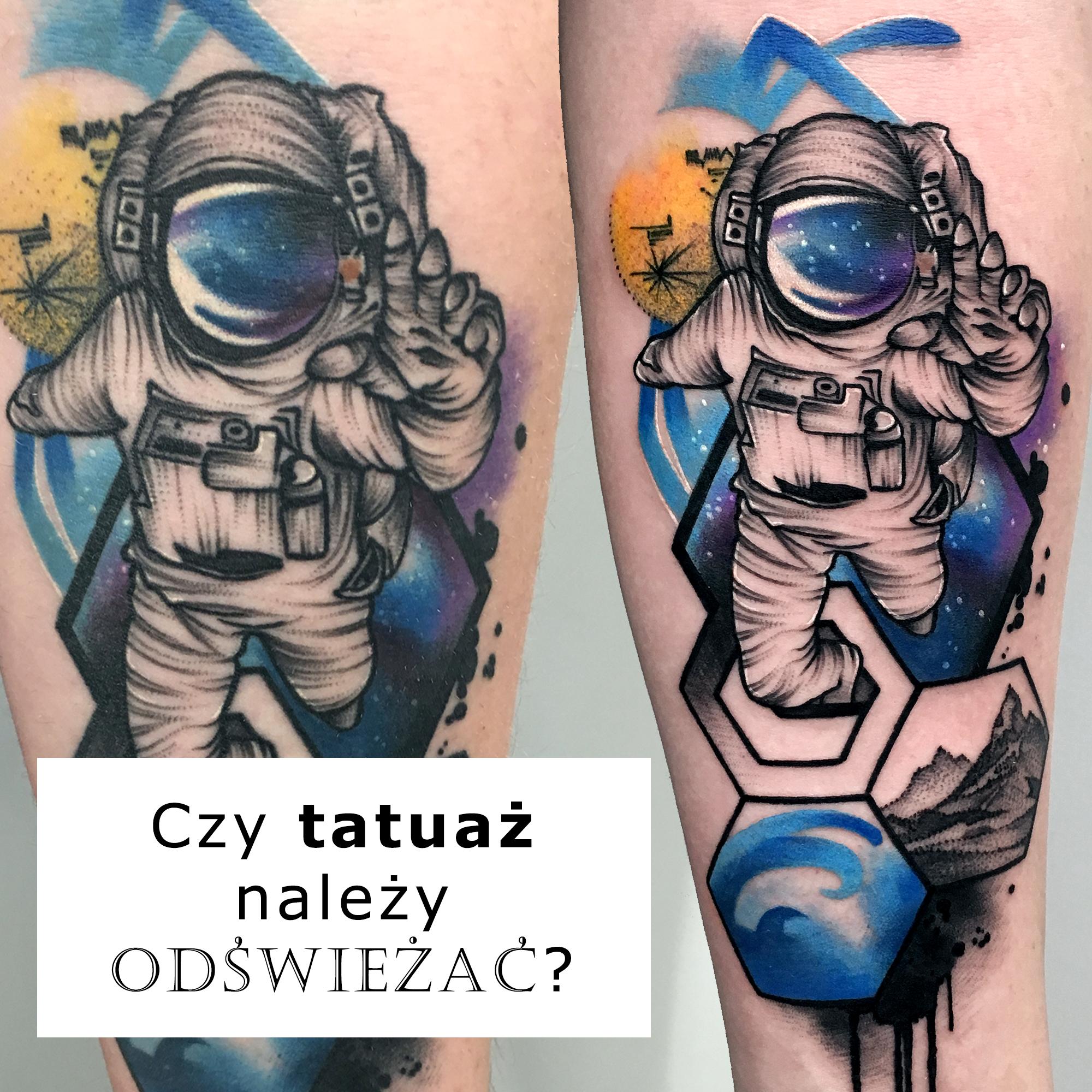 Czy tatuaż należy odświeżać