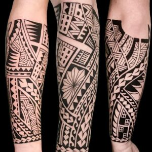 Różne style w tatuażu - maori