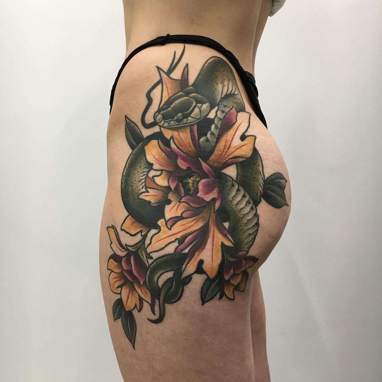 Style w tatuażu - tatuaż neotradycyjny